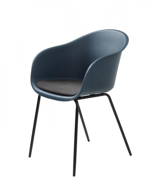 Stuhl Topley Armchair von Livingruhm in blau