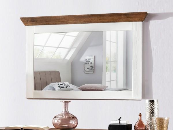 Spiegel Laguna Pinie weiss braun 110cm breit