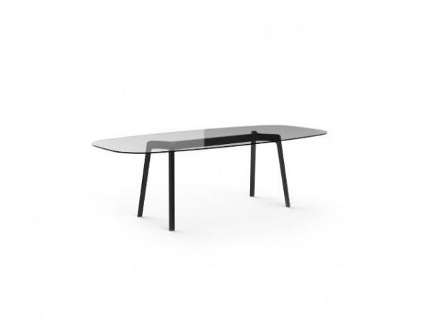 Resol Tisch Noren 180 x 100 cm Glasplatte