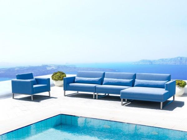 Lounge Bari Gartenlounge D 16-teilig Silvertex