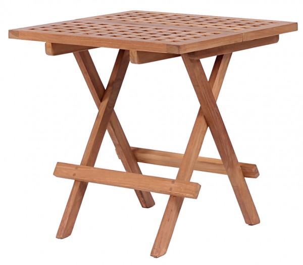 deVries Woodie Beistelltisch 50x50 cm