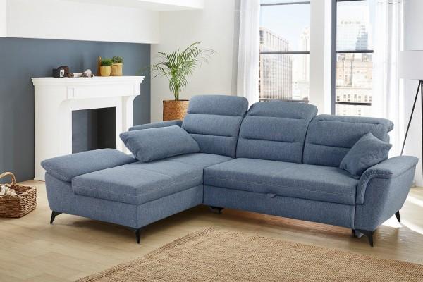Jockenhöfer Sofa Positano blau
