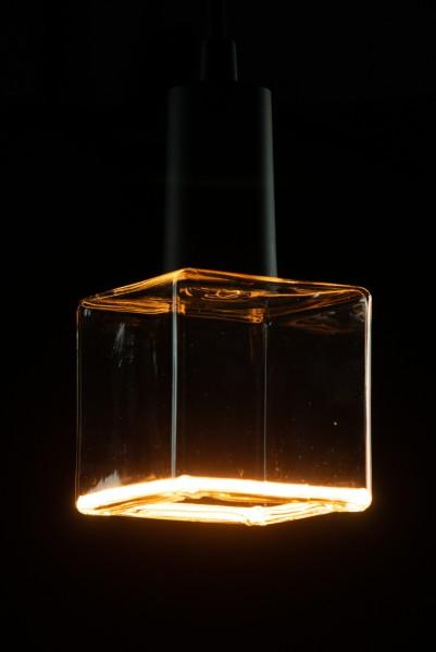 Heitronic LED Leuchtmittel Floating Cube R85 klar E27