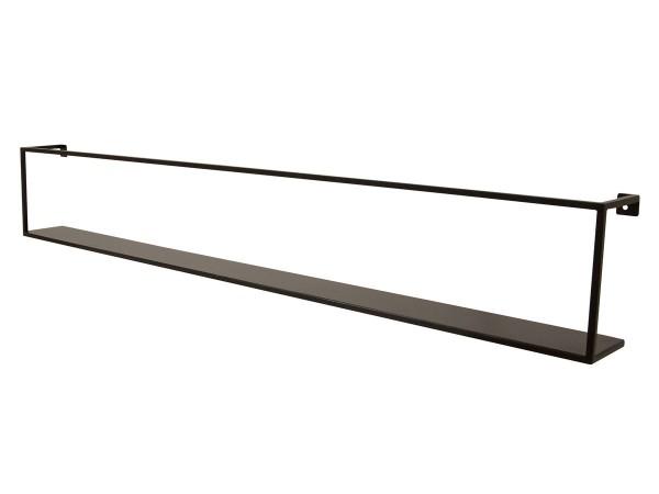 Wandregal Joy Garderobe Metall schwarz 100 cm breit