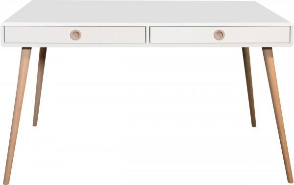 Steens Schreibtisch Softline 078 weiß