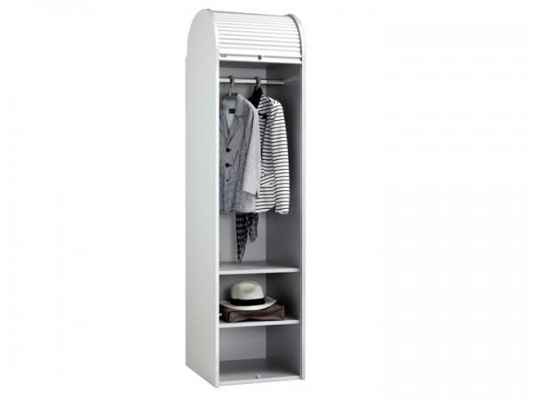 MS-Schuon Dancer Kleiderschrank mit Rollladen Weiß 50cm Klenk Collection