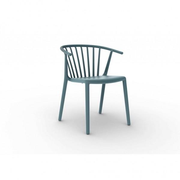 Resol Stuhl Woody blau