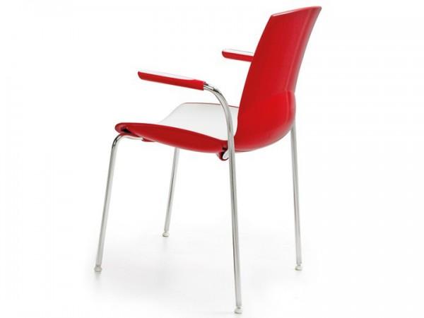 Infiniti Stuhl Now 4er Set mit Armlehnen stapelbar