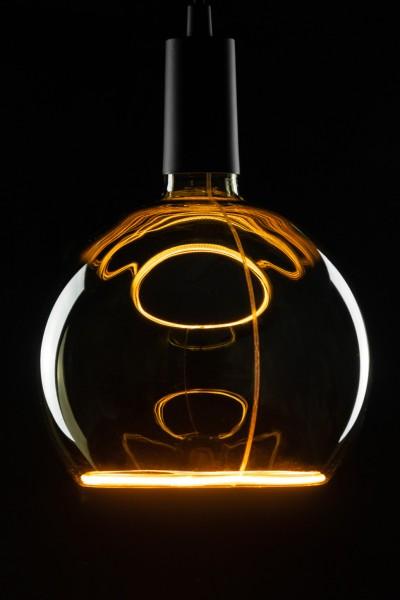 Heitronic LED Leuchtmittel Floating Globe R200 rauch E27