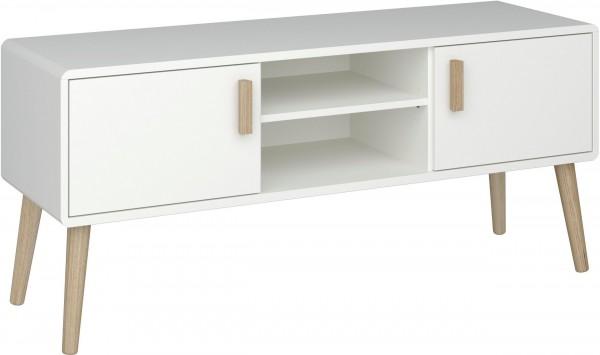 Steens TV-Lowboard Pavona 717 weiss, 55 x 125 cm