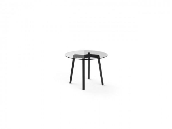 Resol Tisch Noren Ø100 cm Glasplatte