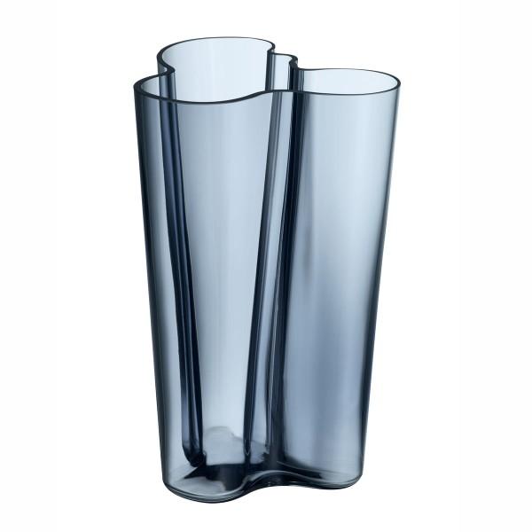 iittala Aalto Vase 25 cm regenblau