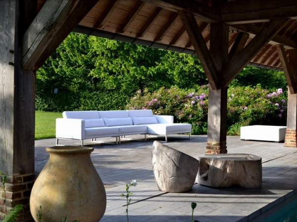 Lounge Bari Gartenlounge Set B 12-teilig Silvertex Livingruhm