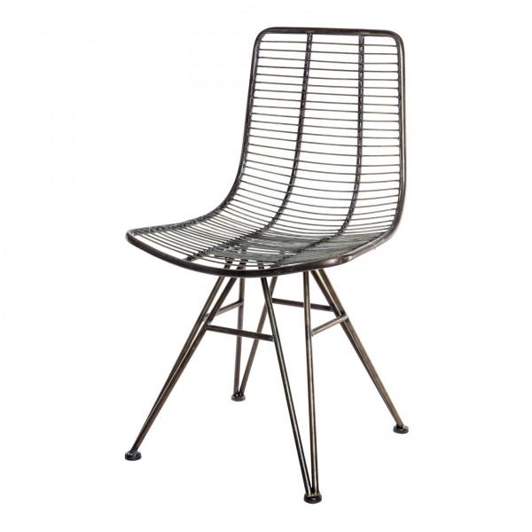 Stuhl Wire Black von Livingruhm