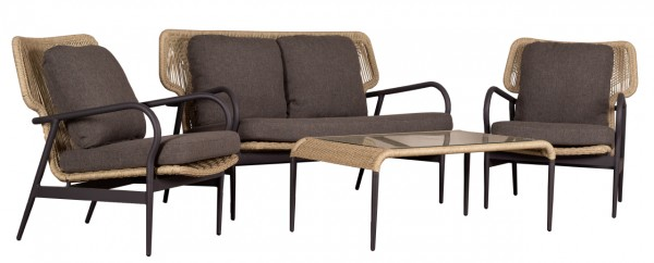 Sumba Loungeset 20 mm twisted seagrass