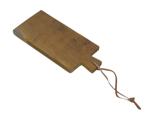 Servierplatte klein - natur - teak