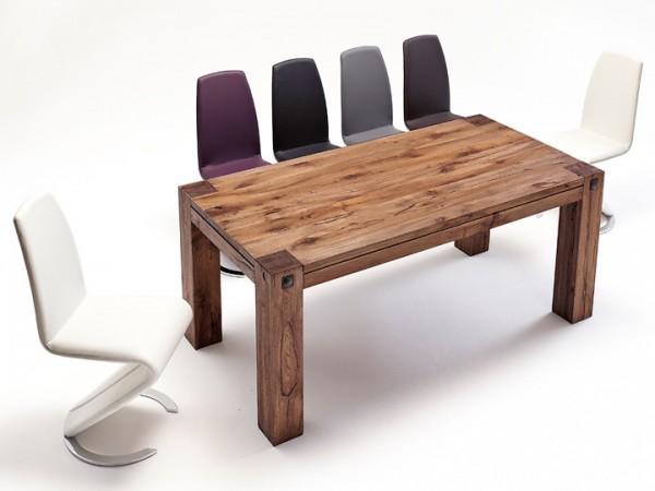 MCA furniture Leeds Esstisch Eiche massiv 180x90 cm