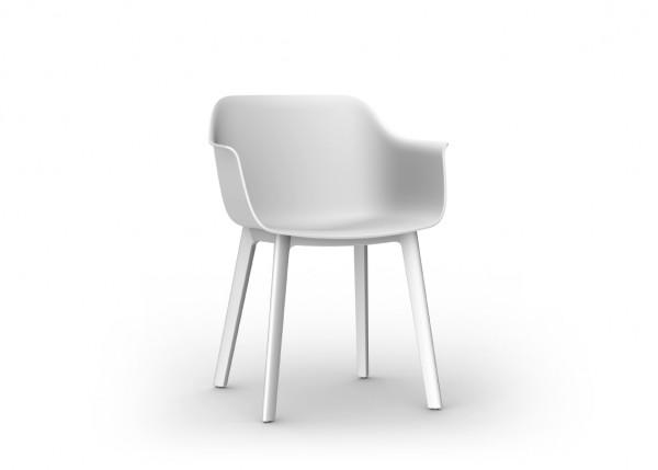 Resol Stuhl Shape Click weiß (2er-Set)