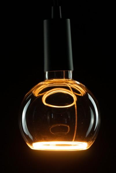 Heitronic LED Leuchtmittel Floating Globe R125 klar E27