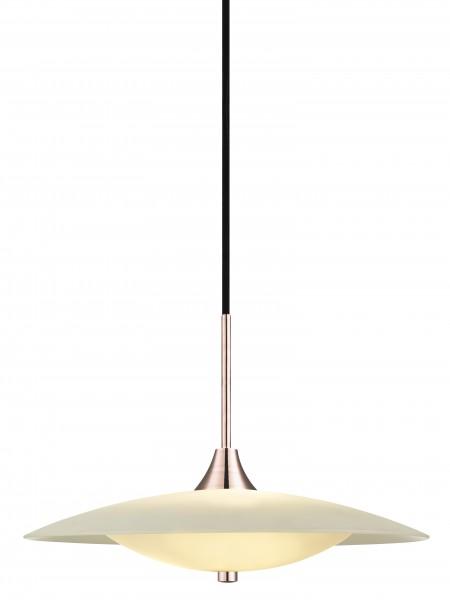 Halo Design Pendelleuchte Baroni Ø46cm Opal/Kupfer