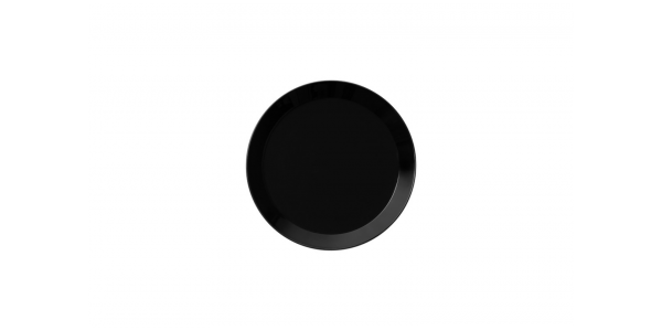 iittala Teller Teema schwarz 17 cm