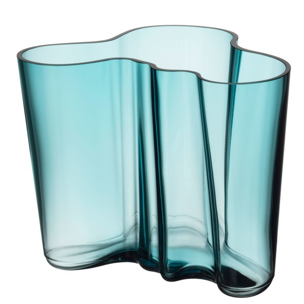 iittala Aalto Vase 160 mm seeblau