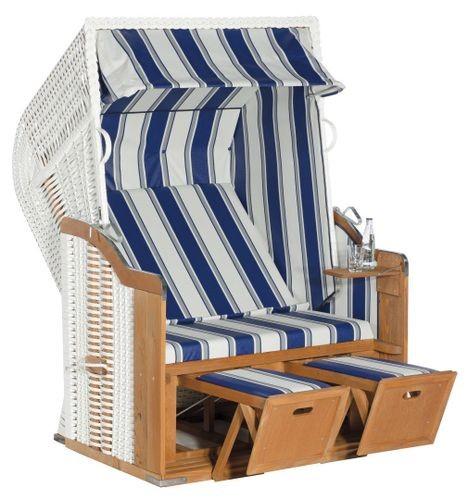 Sunny Smart Strandkorb Rustikal 250 Basic blau