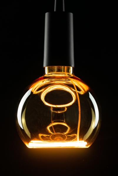 Heitronic LED Leuchtmittel Floating Globe R125 gold E27