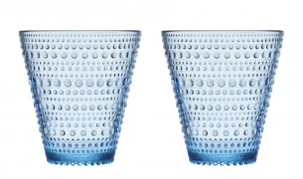 iittala Trinkglas Kastehelmi 0,3 l aqua blau (2er-Set)