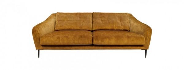 Sofa Mendoza 3-Sitzer Gold
