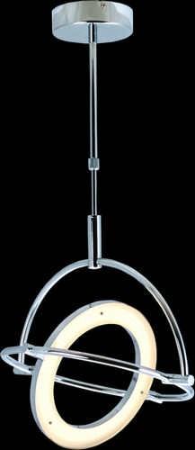 Heitronic LED Pendelleuchte SPACE chrom