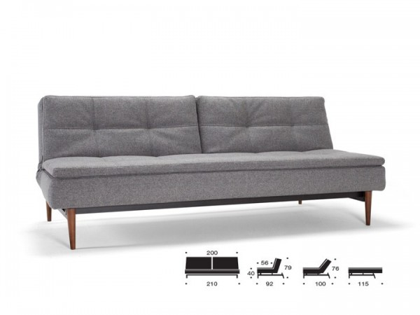 Innovation Dublexo Schlafsofa 3-Sitzer