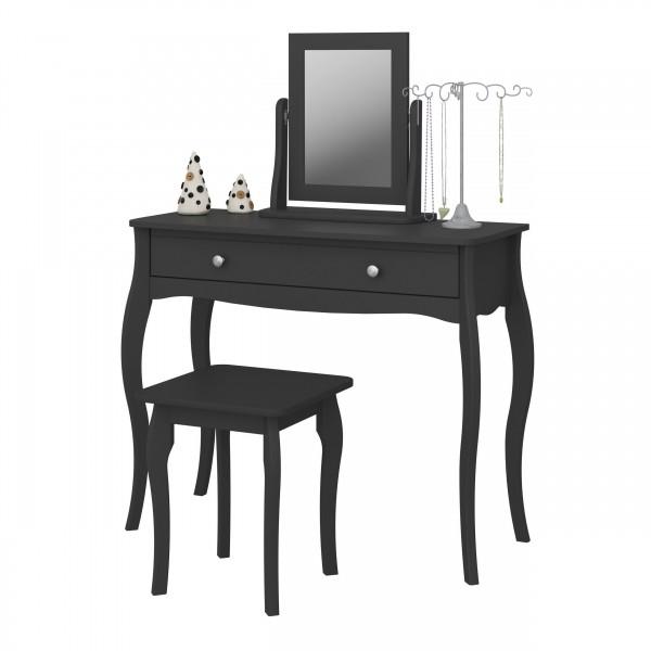 Steens Spiegel Baroque 678 schwarz