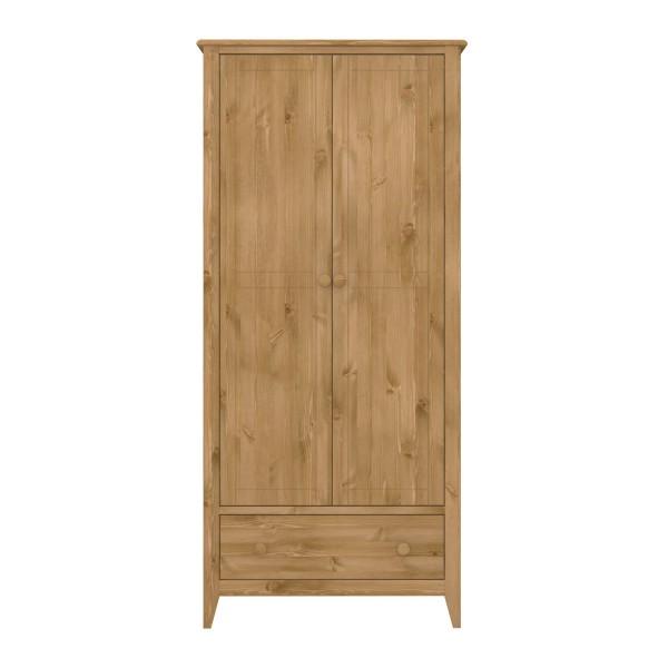 Steens Kleiderschrank Heston 102 braun, 185 x 85 cm