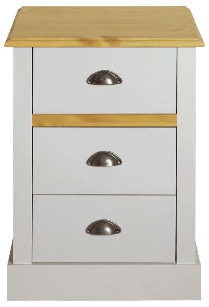 Steens Nachttisch Sandringham 003 grau, 62 x 45 cm