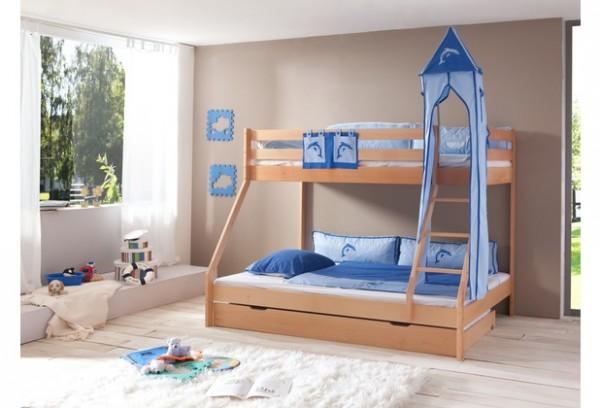 Relita Turm-Set groß blau - Delphin