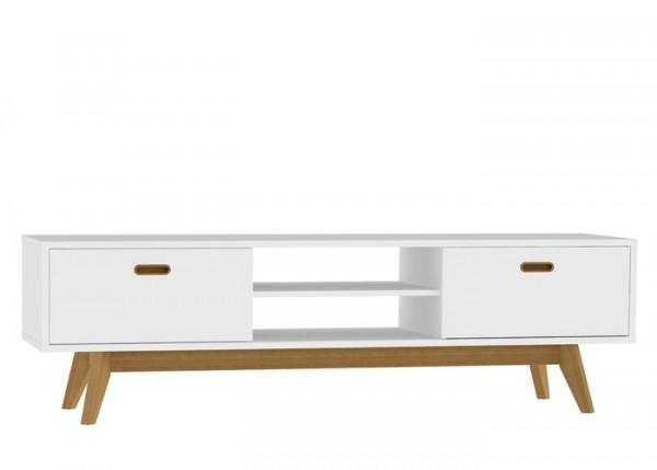 Lowboard Bess Eiche & Weiß 170cm Livingruhm