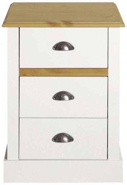 Steens Nachttisch Sandringham 003 weiss, 62 x 45 cm