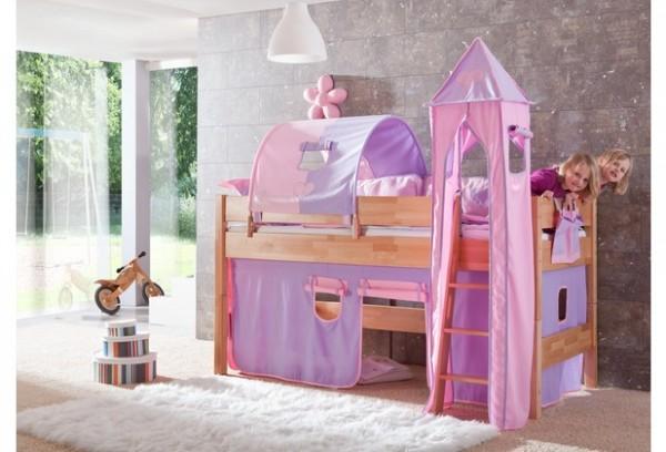 Relita Turm-Set klein lila/rosa-Herz