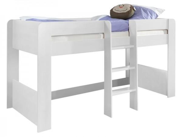 Bett Andi Hochbett 90x200 cm Weiß