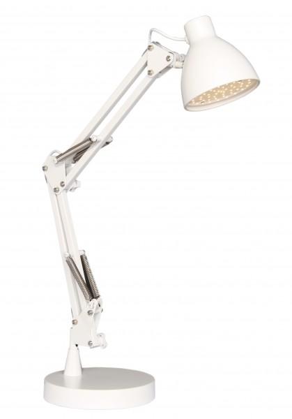 Halo Design Schreibtischlampe Bronx LED weiß
